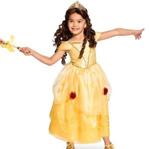 Belle Costume From Disney Store Sz 5/6